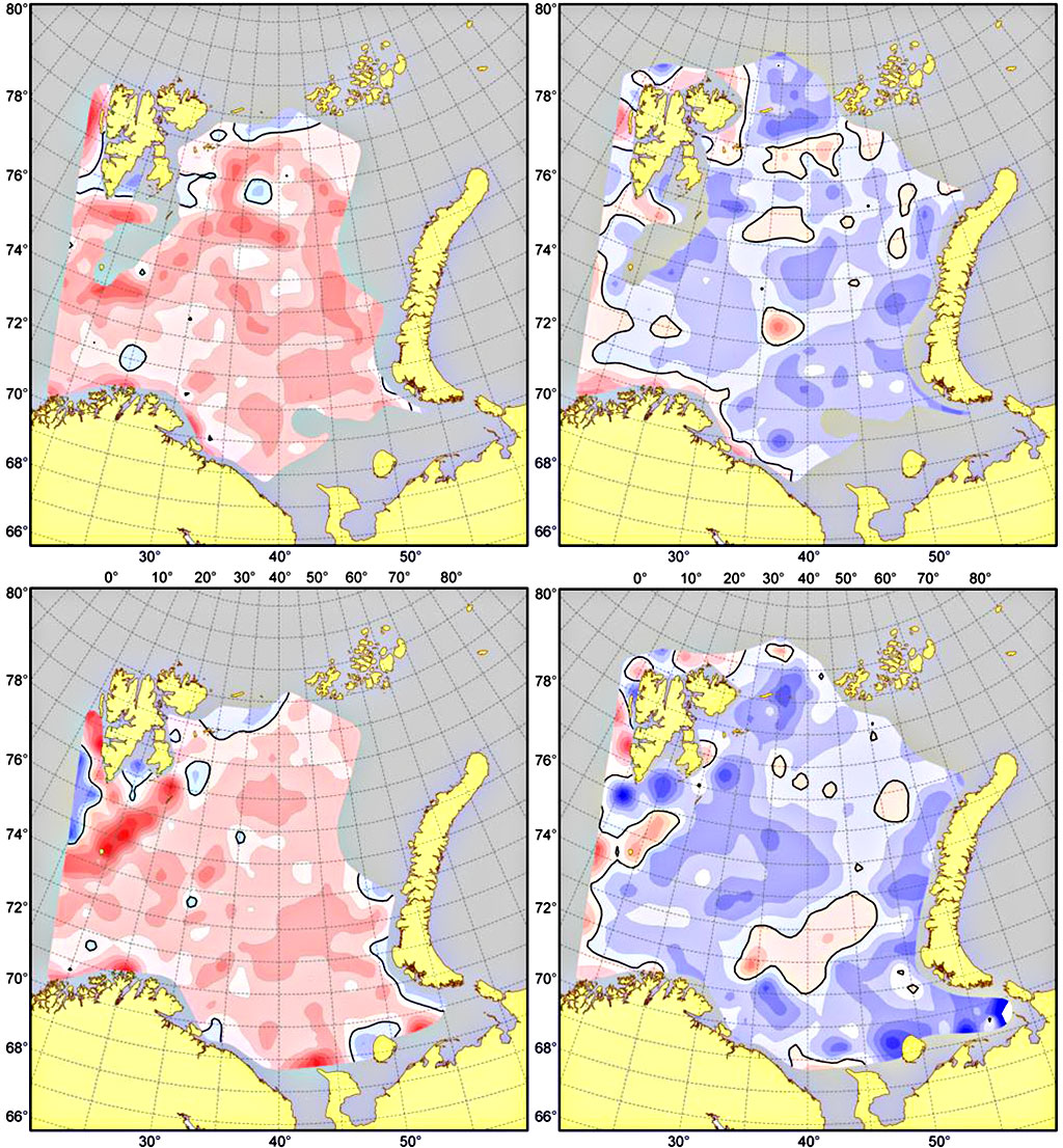 Figure 4.2.7. 100 m (upper) and