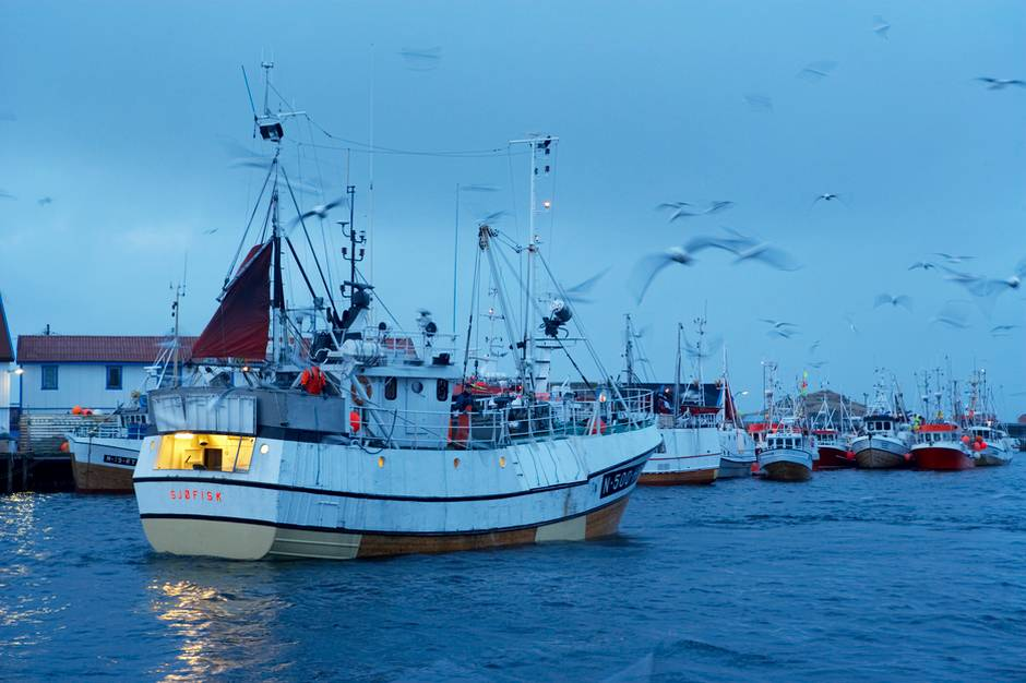 Fishing boat in the Barents Sea. Photo: tu.no