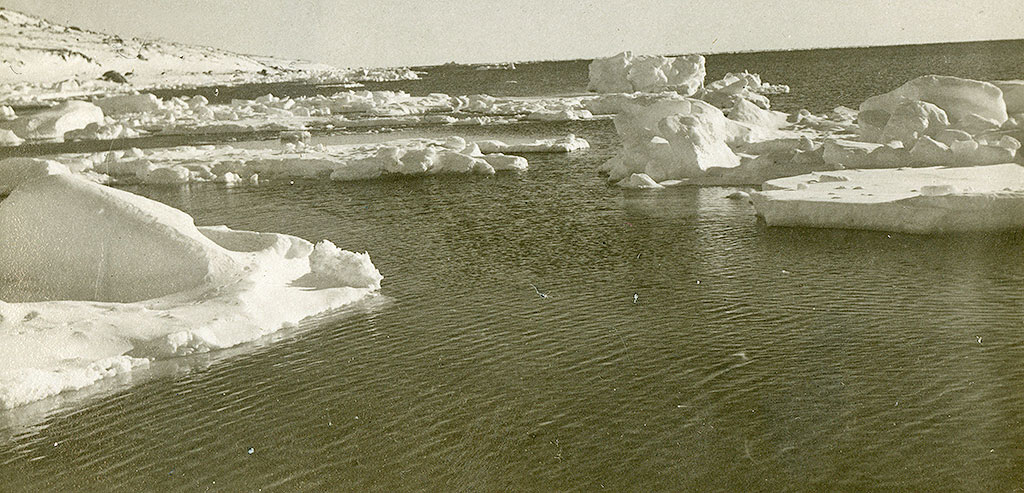 Sea ice in the Barents Sea. Photo: Norwegian Polar Institute