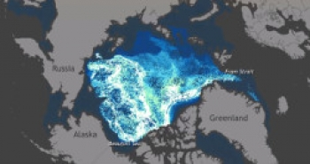 Age of March Sea Ice in the Arctic 1987-2014